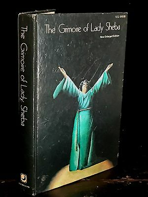 GRIMOIRE OF LADY SHEBA by Jessie W. Bell (Sheba) ~ 1st Ed / 2nd Print 1974 WICCA