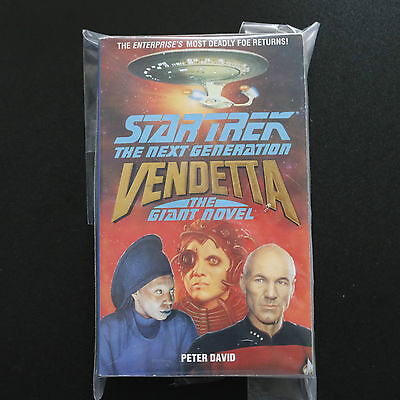 Vintage Star Trek Tng Vendetta The Giant Novel Paperback Book Novel (1991)