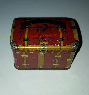 Vintage Consolidated Tea Co.  Tin