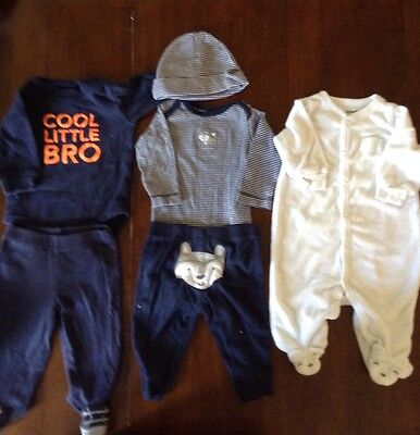 Carters Baby  Boy Lot 3 Months Preowned