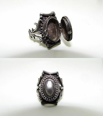 Sterling Silver Poison Ring Victorian_Size 6.25 (6 1/4) Antique Or Vintage_Sale!