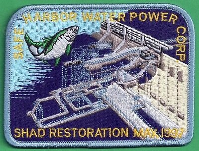 Pa Pennsylvania Fish Commission 97 BLUE EDGE Safe Harbor Shad Restoration Patch