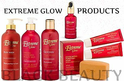 Extreme Glow Strong Lightening Products, (With Argan Oil & Vegeclairine)