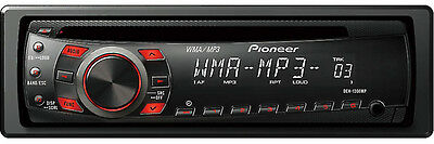 PIONEER DEH-1300MP CAR AUDIO STEREO CD MP3 AUX IN iPOD iPHONE PLAYER RECEIVER