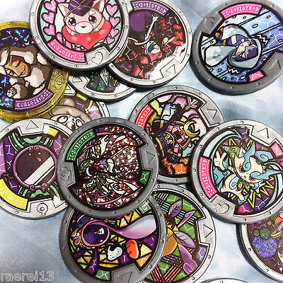 Yo-kai Watch English Medals - Series 3 Yokai Medals - Pick from list!