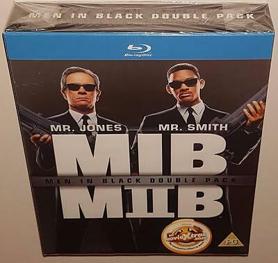 Men In Black 1 & 2 Double Pack Brand New Sealed Region Free Bluray Will Smith