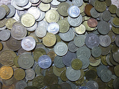 Lot of 100 Coins 1960's -1990's Eastern Bloc Countries