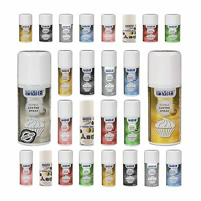 PME Edible Lustre Spray Paint - Icing Cupcake Fondant Cake Decoration Colouring