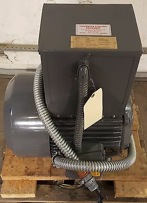 Carpenter Electric 15HP Largest / 30HP Total Load Rotary Phase converter, 60 AMP