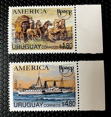Uruguay Stamps Sc 1543-1544 MNH
