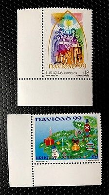Uruguay Stamps Sc 1831-1832 MNH