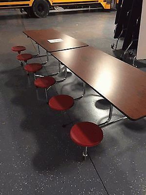 CLOSEOUT SURPLUS CAFETERIA lunchroom TABLES  - 9 FOR ONLY $1800. obo. CAN SHIP!