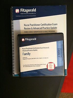 2014 Fitzgerald Family Nurse Practitioner Exam Review 16 CD set & 2016 workbook