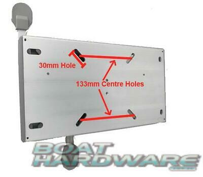 Quality Boat Seat Slide & Swivel 10 lock positions Fit most seat bases Aluminium