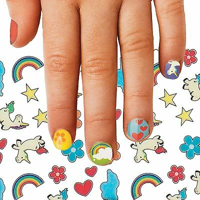 FINGERNAIL FRIENDS - Unicorn -Magical Nails Stickers for Kids Fun Gift Play *NEW