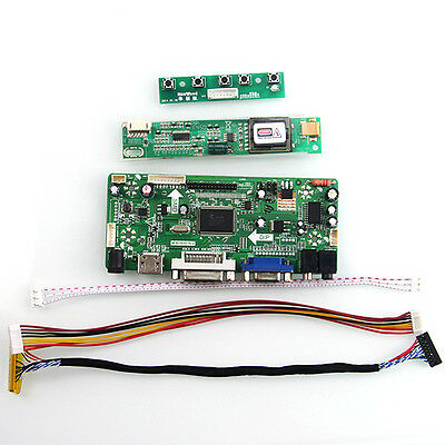 "for B156XW01 V.2  LTN156AT01 1366x768 15.6"" Controller Board(HDMI+VGA+DVI+Audio)"