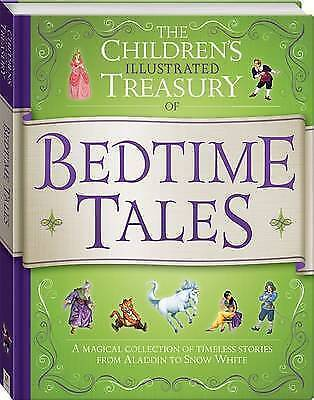 The Children's Illustrated Treasury of Bedtime Tales by Hardcover Book (English)