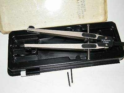 Vintage Weems & Plath Ultralight Divider With 2 Extra Tips  Made In Denmark