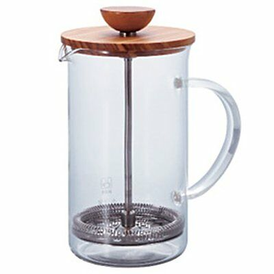 Hario Tea Press Wood For 4 Cups THW-4-OV 600ml Tea Maker Olive Wood from JAPAN