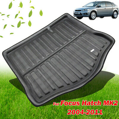 Rear Cargo Boot Liner Trunk Tray Floor Mat For Ford Focus Mk2 Hatchback HB 05-11