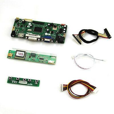 for LP171WP4-TLN2 LP171W01-A4  1440x900 Controller Board(HDMI+VGA+DVI)