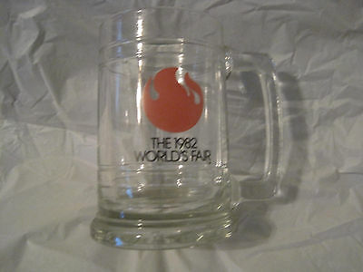 Rare Vintage 1982 Worlds Fair Coffee Beer Mug Cup Stein~Knoxville Tn.~LBDLB