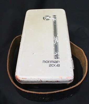 Vintage Norman 200B Portable Rechargeable Battery Power Light Pack Photography