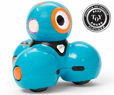 NEW Wonder Workshop Dash Interactive Robot Educational Toy for Apple or Android