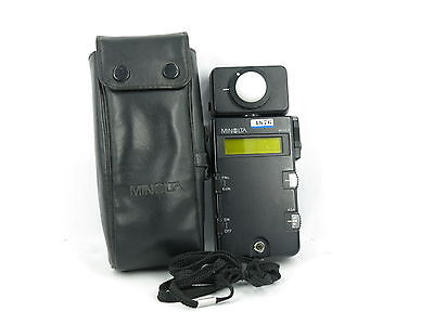 Minolta Flash Meter III Digital Light Meter W/Case free shipping JAPAN