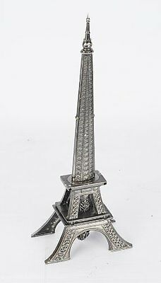 """15"""" Paris Eiffel Tower Letter Opener Fantasy Dagger Gift Knife w/ Display Stand"""