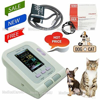 OLED Digital Veterinary Blood Pressure Monitor NIBP cuff,Dog/Cat/Pets,US seller