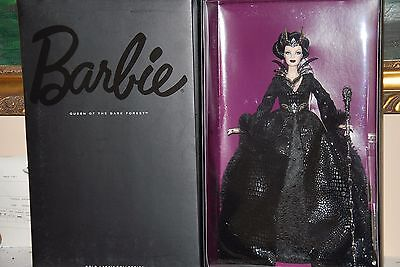 Queen Of The Dark Forest Barbie Doll, Faraway Forest Collection, 2015 Cjf32 Nrfb