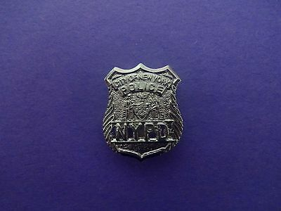 NYPD Police Officer mini shield - NYC Police Officer mini badge - NYPD PBA