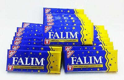 100 pcs Original Sugarless Mastic Flavor Falim  Sugar Free Turkish Chewing Gum