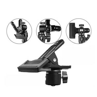 Photography Multi-function Clip Clamp Holder Mount with Standard Ball Head AU