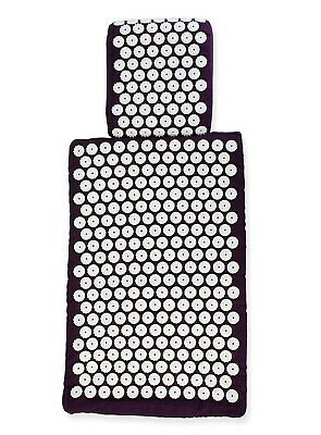 Euromat - Acupressure Mat and Pillow Set- Won Best Acupressure Mat- White Lotus