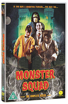 DVD:MONSTER SQUAD - THE COMPLETE SERIES - NEW Region 2 UK