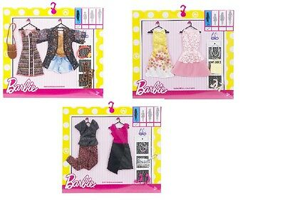Mattel Barbie Fashion 2-er Pack (Motivauswahl) | Barbie Puppen Kleidung