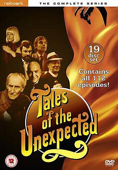 DVD:TALES OF THE UNEXPECTED - THE COMPLETE SERIES - NEW Region 2 UK