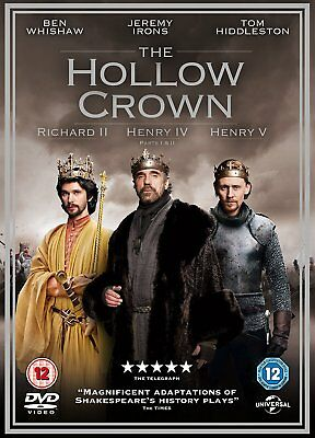 DVD:THE HOLLOW CROWN SEASON 1 - NEW Region 2 UK