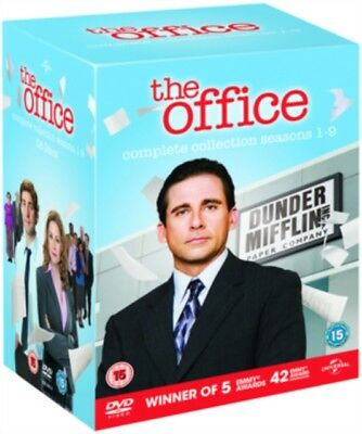 DVD: THE OFFICE US - SERIES 1 TO 9 COMPLETE BOX SET - NEW Region 2 UK