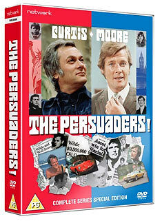 DVD:THE PERSUADERS - THE COMPLETE SERIES - NEW Region 2 UK