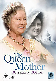 DVD:THE QUEEN MOTHER - 100 YEARS IN 100 MINUTES - NEW Region 2 UK
