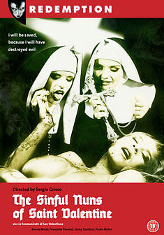 DVD:THE SINFUL NUNS OF ST VALENTINE - NEW Region 2 UK