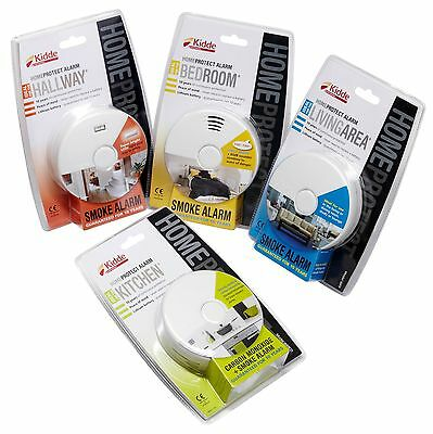 Kidde Smoke, Heat and Carbon Monoxide Alarms - Room Specific