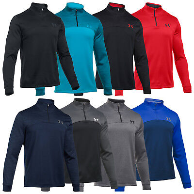 Under Armour Mens Coldgear Storm Icon Half Zip Top New Ua Pullover Fleece Sports