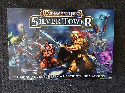 Games Workshop Warhammer Quest Silver Tower New In Box Missing Figures
