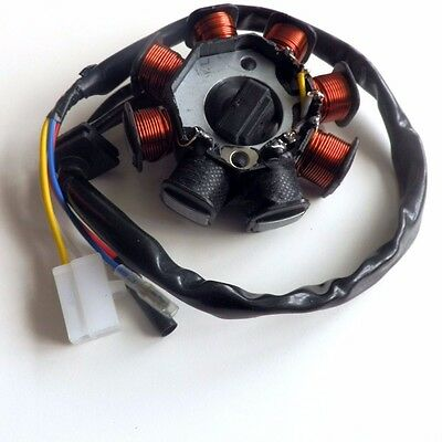 Stator Magneto 4-Wires for Chinese 50cc 4 stroke GY6 Scooter Jonway Benzhou
