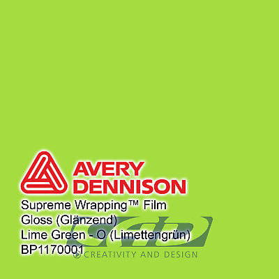 Avery Supreme Car Wrapping Film Folie weiß diamant 3 m 36,65 € // m