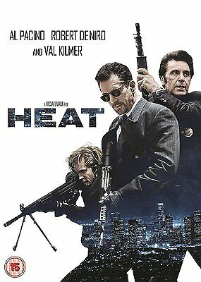 Heat  ( New Remastered Edition ) Brand New Sealed Genuine Uk Dvd